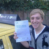 driving school in reading - love 2 pass